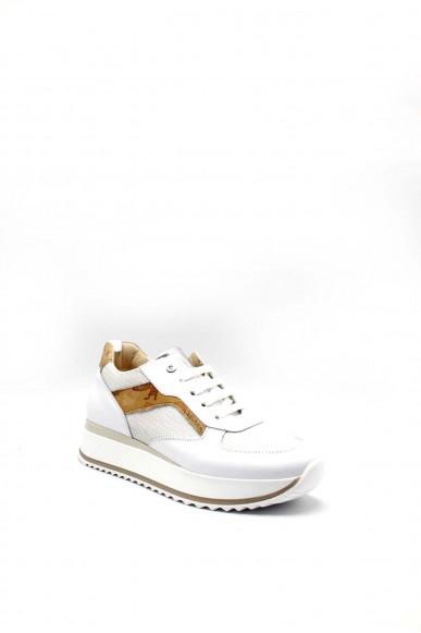 1^classe  Sneakers F.gomma 0926 Donna Bianco Fashion