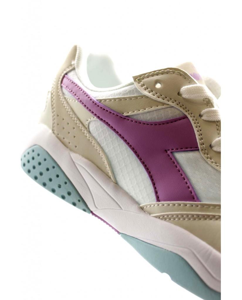 Diadora Sneakers F.gomma Flex run Donna Bianco Sportivo