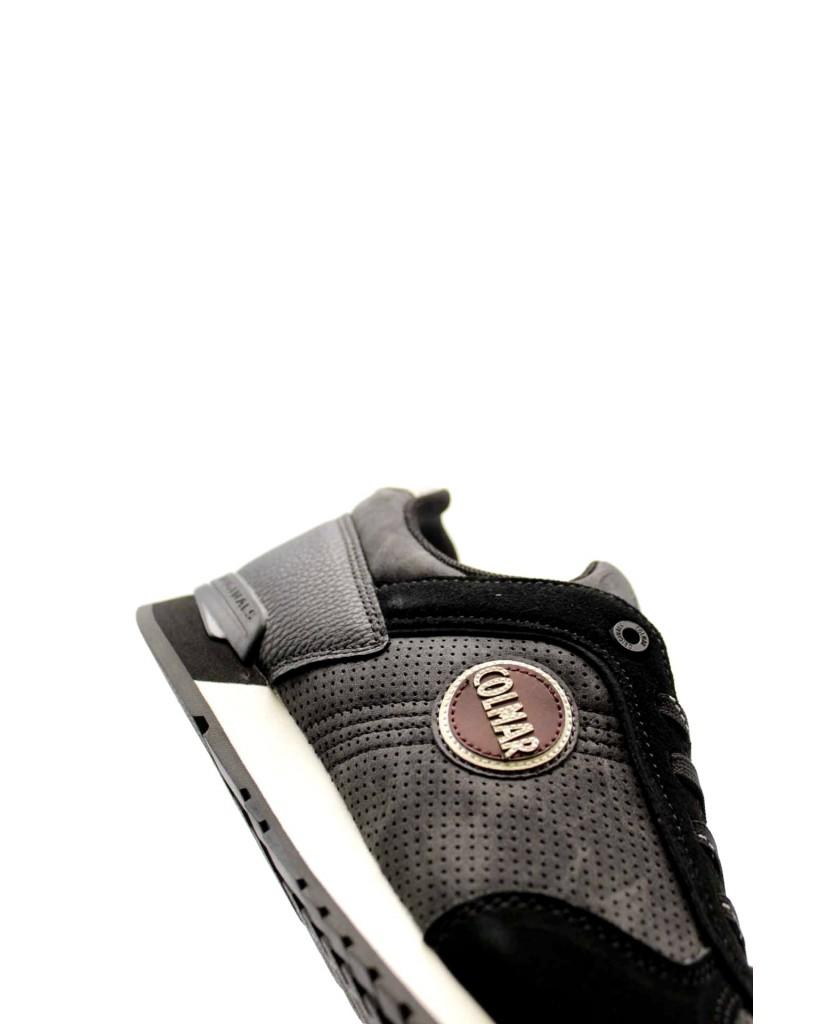 Colmar Sneakers F.gomma Travis drill black 021 clm Uomo Nero Fashion