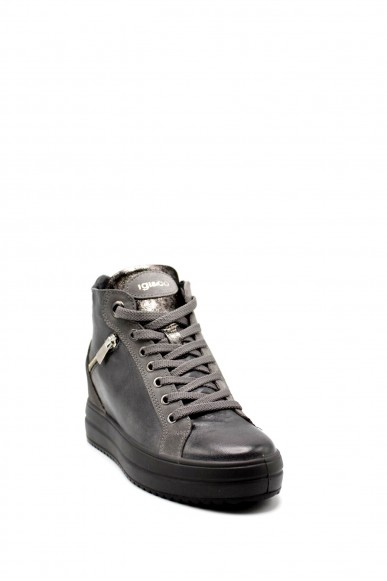 Igieco Sneakers F.gomma Dhy 61556 Donna Grigio Casual