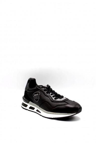 Blauer Sneakers F.gomma Hiloxl02 Uomo Nero Fashion