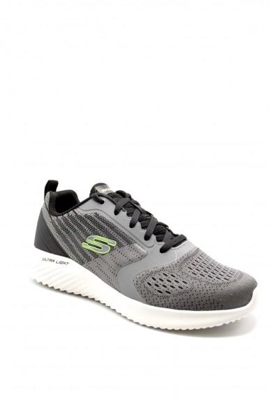 Skechers Sneakers F.gomma 40-45 232004 Uomo Grigio Casual