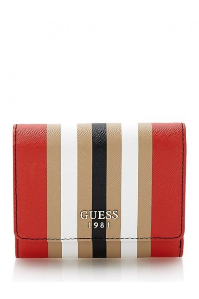 Guess Portafogli - Keaton slg small trifold Donna Multicolore Fashion