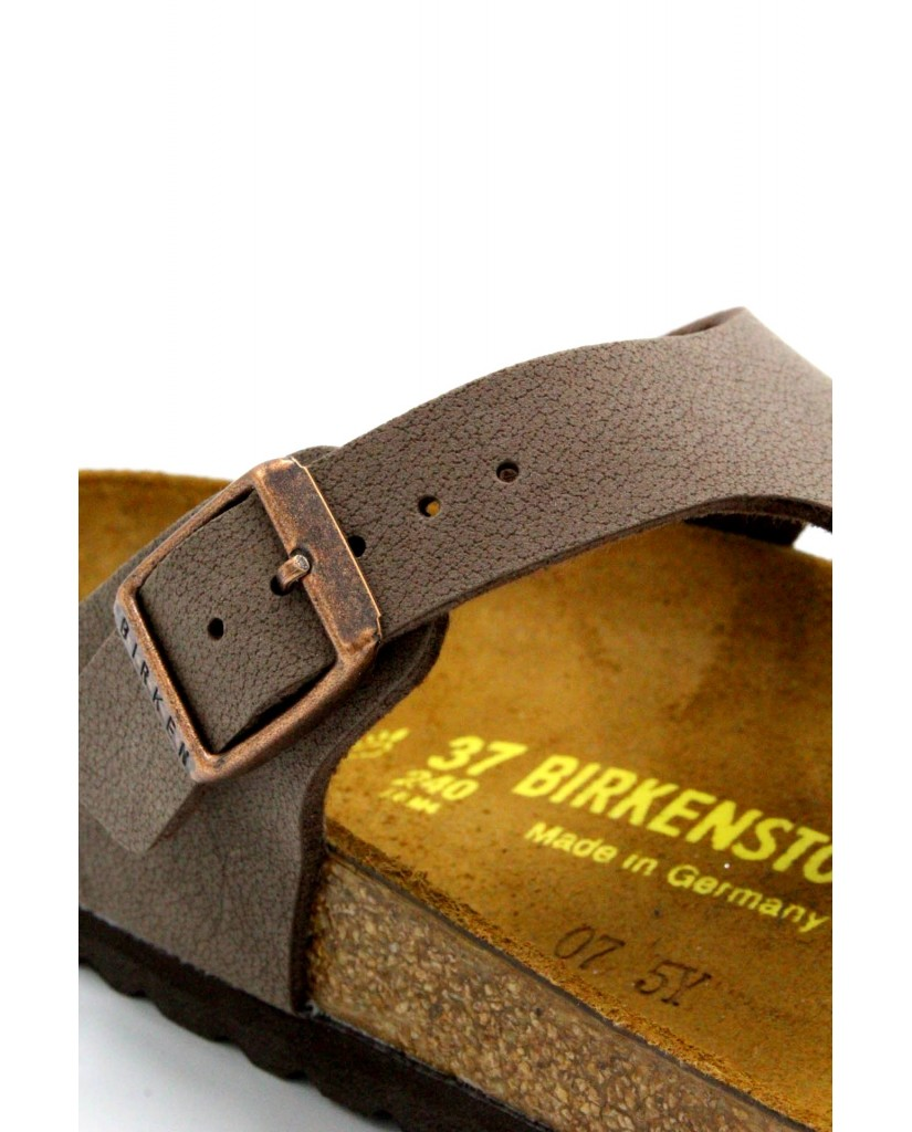 Birkenstock Infradito F.gomma 36/45 Unisex Mocca Classico