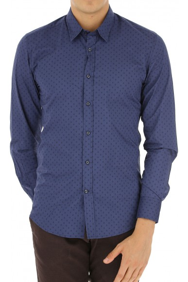 Antony morato Camicie   Long sleeved shirt Uomo Blu
