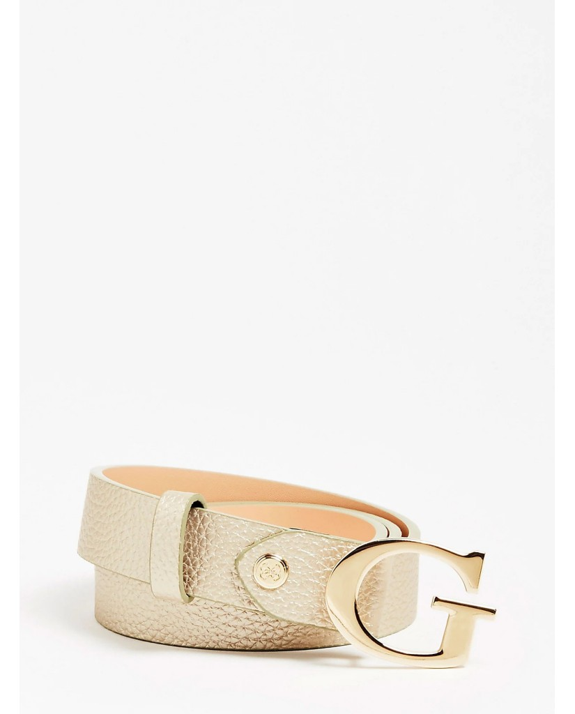 Guess Cinture   Uptown chic adjust pant belt Donna Oro Fashion