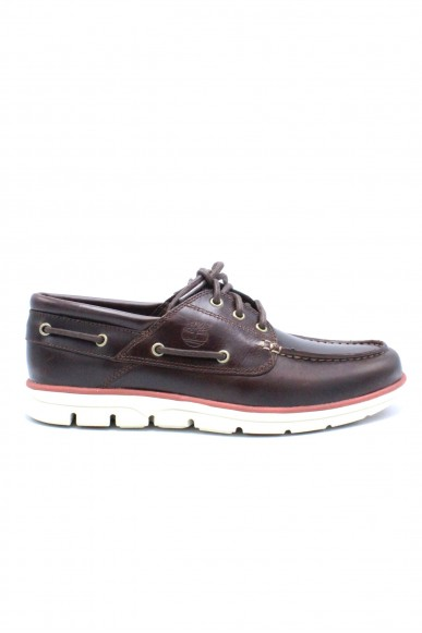 Timberland Mocassini F.gomma 7-11 Uomo Marrone Fashion