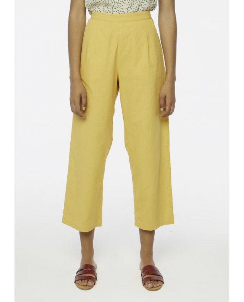 Compagnia fantastica Pantaloni   Sp20sam53 Donna Giallo Fashion