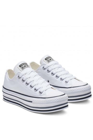 Converse Sneakers F.gomma Chuck taylor all star Donna Bianco Fashion