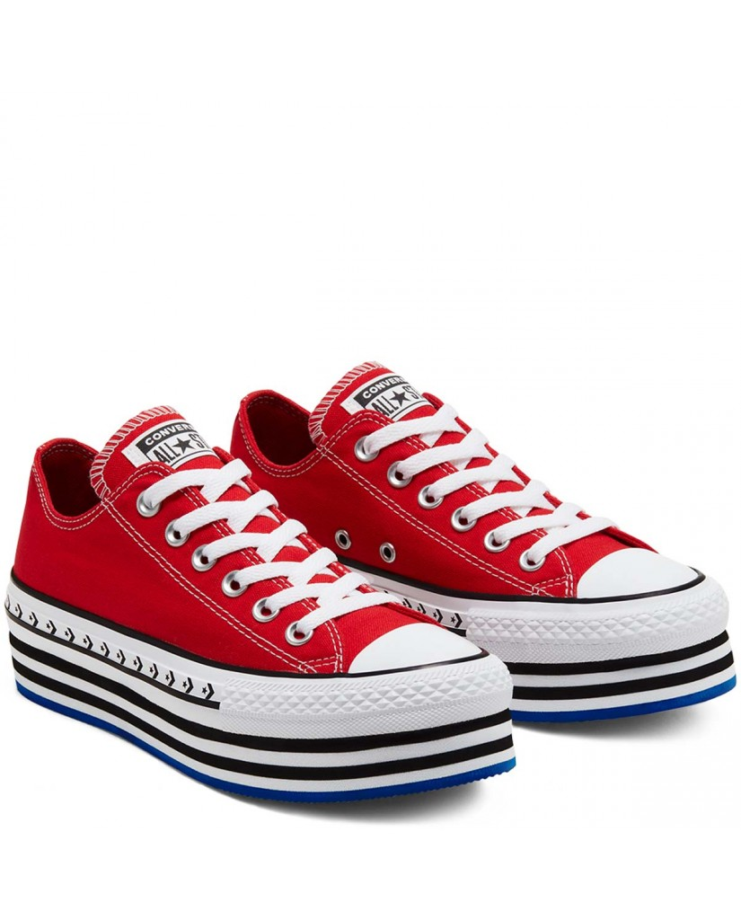 Converse Sneakers F.gomma Chuck taylor all star lugged Donna Rosso Fashion