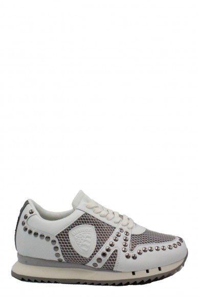 Blauer Sneakers   Donna Bianco Fashion