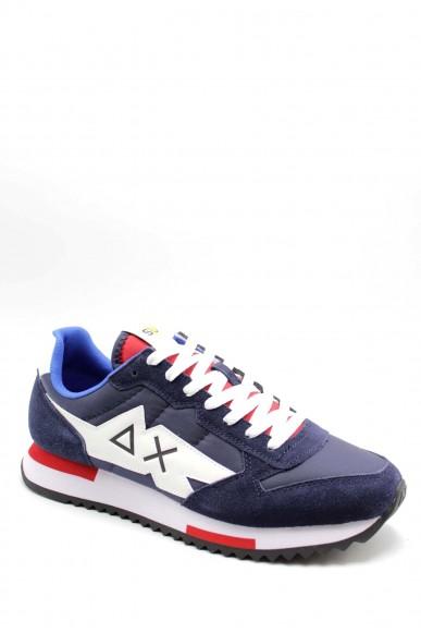 Sun68 Sneakers F.gomma 40-46 Uomo Blu Sportivo