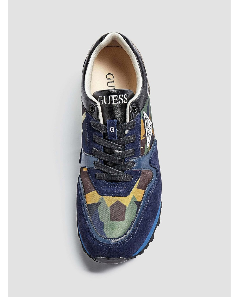 Blue GUESS Sneakers NEW CHARLIE