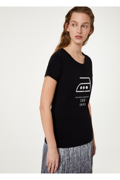 Liu.jo T-shirt   T-shirt Donna Nero Fashion