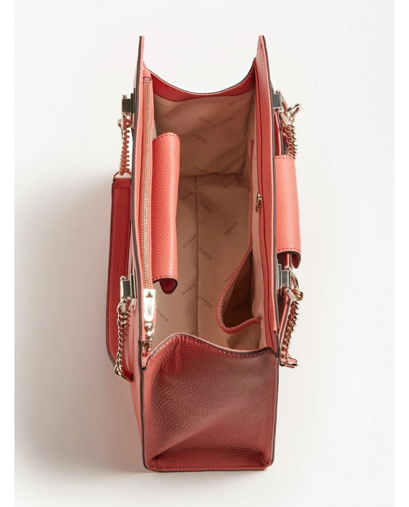 Guess Borse   Belle isle society carryall Donna Rosso Fashion