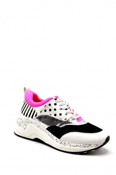 Cafe' noir Sneakers F.gomma Sneaker pois Donna Fuxia Fashion