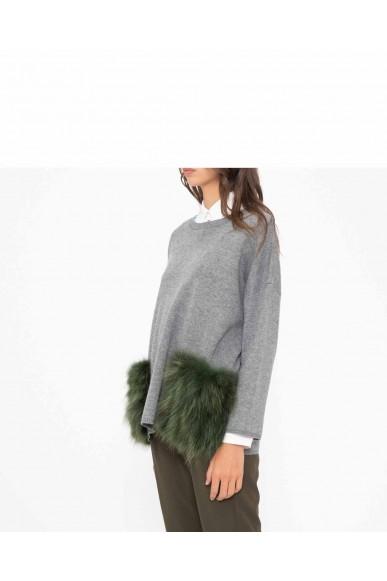 Silvian each Maglioni   Sweater ervida Donna Grigio