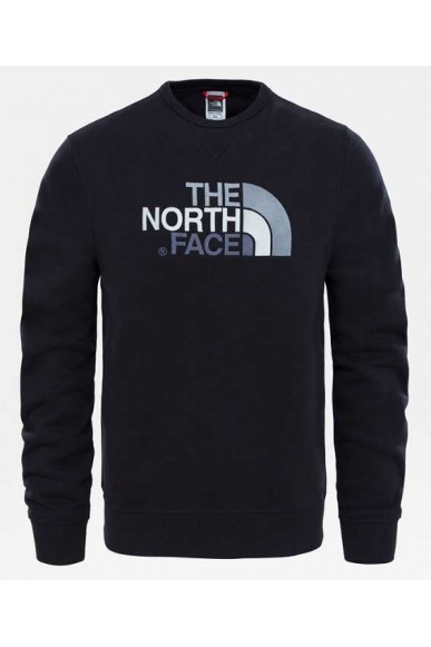 The north face Felpe   M drew peak crew tnf black Uomo Nero Casual