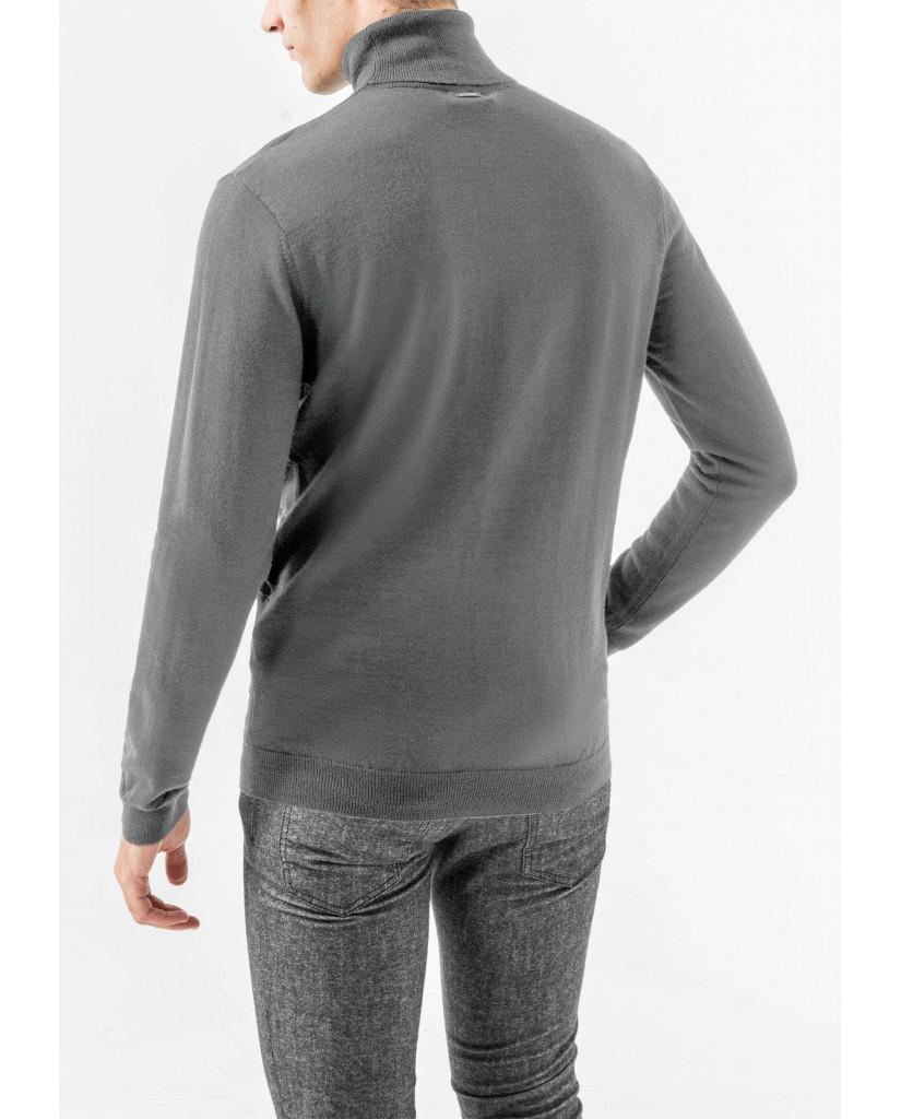Antony morato Maglie   Knitted sweater Uomo Grigio