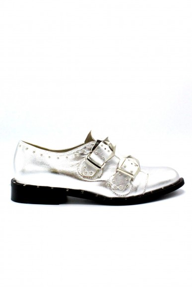 Nicole Classiche F.gomma 36/40 made in italy Donna Argento Fashion