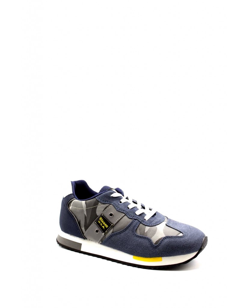 Blauer Sneakers F.gomma Dash02 Bambino Blu Fashion