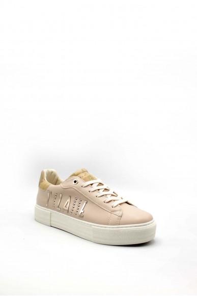1^classe  Sneakers F.gomma 0876 Donna Beige Fashion