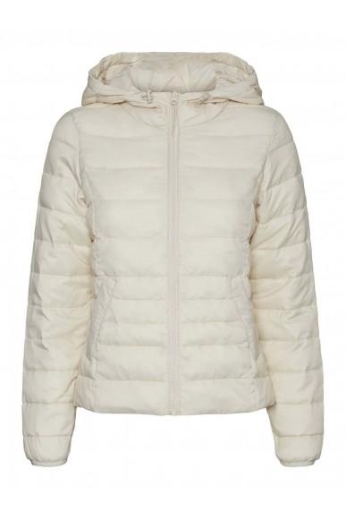 Vero moda Giacchetti   Vmmikkola short hoody jacket boos Donna Beige Fashion