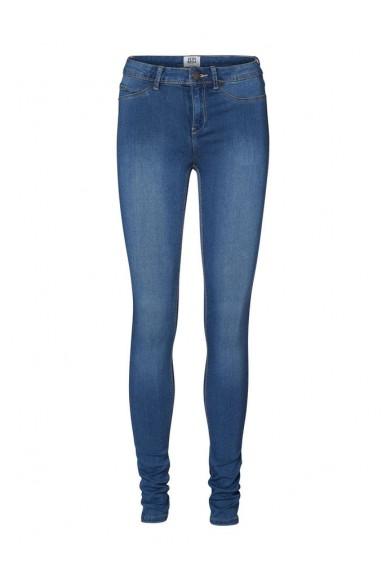 Vero moda Leggings Donna Blu Casual