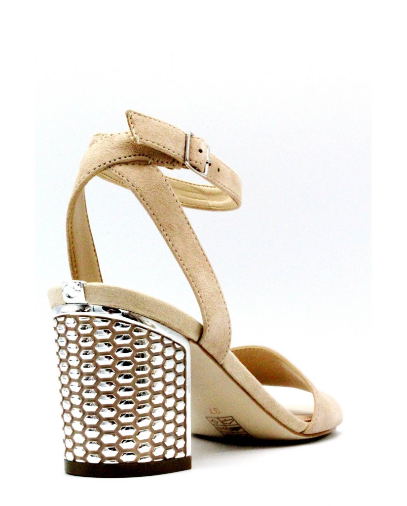 Guess Sandali   Renee/sandalo (sandal)/suede Donna Naturale Fashion