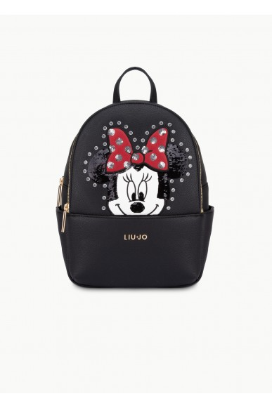 Liu.jo Backpacks Ecopelle Backpack bag Donna Nero Fashion