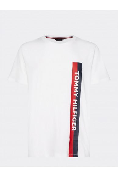 Tommy hilfiger T-shirt   Crew neck tee Uomo Bianco Fashion