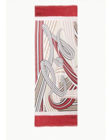Liu.jo Foulard   Scarf/shawl Donna Rosso Fashion