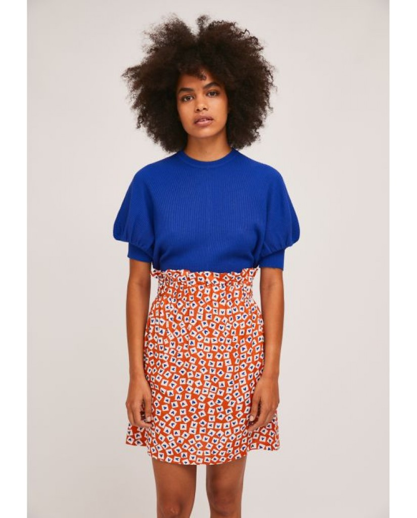 Compagnia fantastica Gonne   Sp21she37 Donna Arancione Fashion