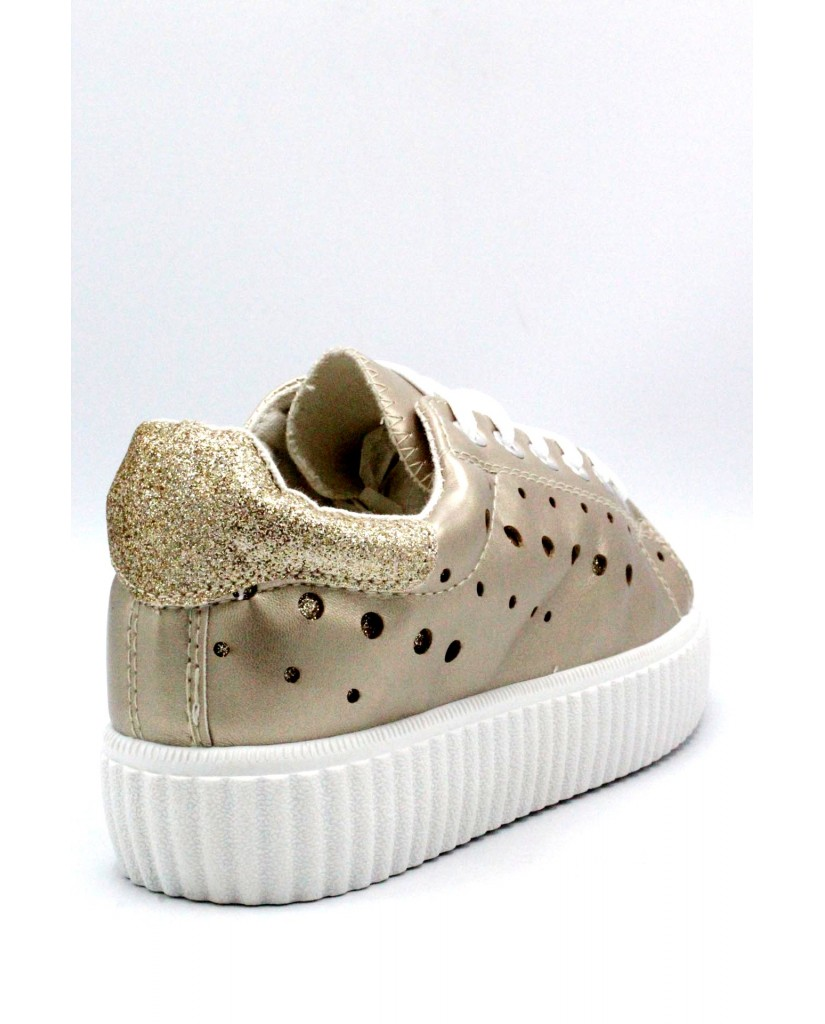 Energi Sneakers F.gomma 36/41 6 Donna Platino Fashion