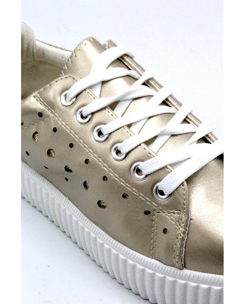 Energi Sneakers F.gomma 36/41 6 Donna Platino Fashion