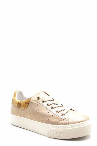 1^classe  Sneakers F.gomma N0201 Donna Cipria Fashion