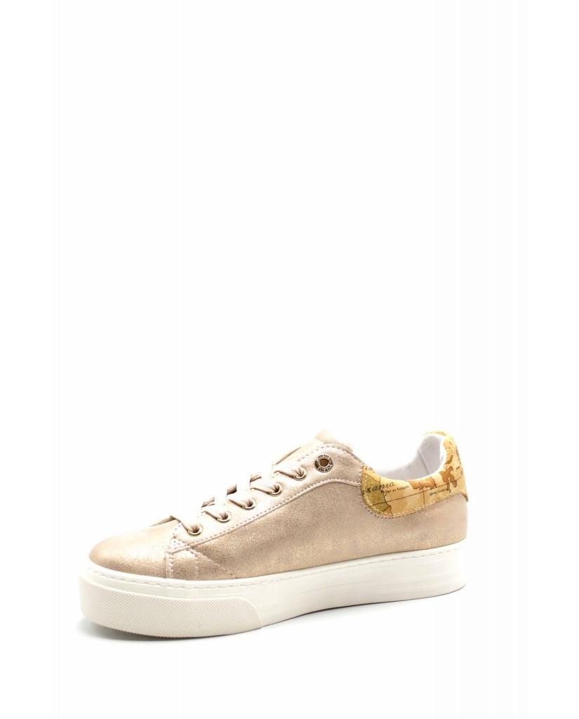 1^classe  Sneakers F.gomma N0201 Donna Cipria Fashion