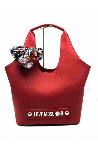 Moschino Borse   Borsa bonded Donna Rosso Fashion