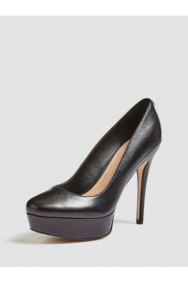 Guess Decollete   Henlia decollete (pump) leathe Donna Nero Fashion