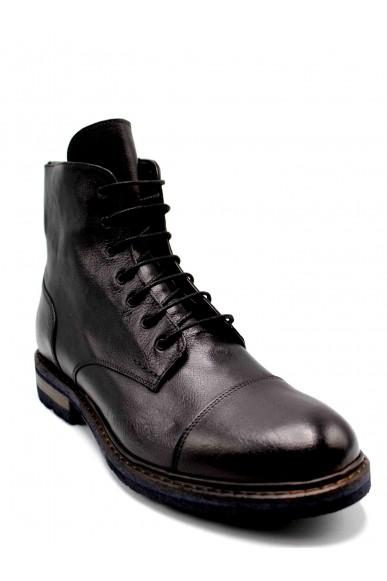 Brecos Stivaletti F.gomma 40-45 Uomo Nero Fashion