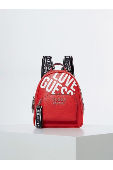 Guess Backpacks   Haidee large backpack Donna Rosso Fashion