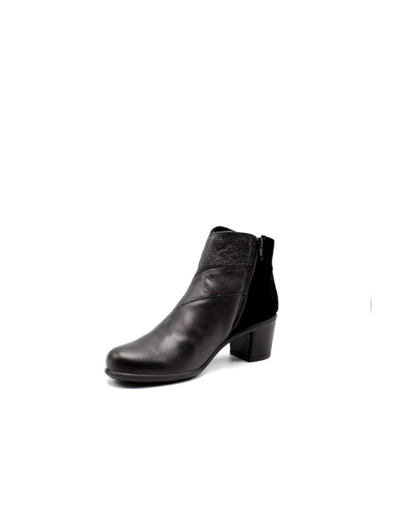 Enval soft Tronchetti F.gomma D da 62539 Donna Nero Casual