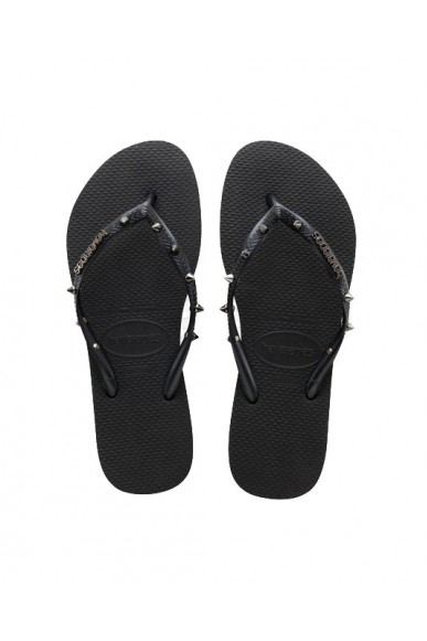 Havaianas Infradito   Hav. slim hardware Donna Nero Fashion