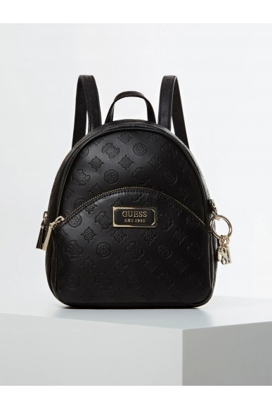 Guess Backpacks   Logo love bradyn backpack Donna Nero Fashion