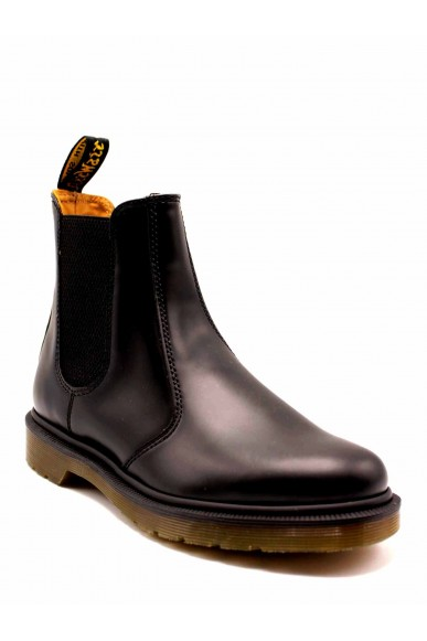 Dr. martens Beatles F.gomma 2976 smooth black plain welt Donna Nero Fashion