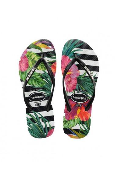 Havaianas Infradito   Hav. slim tropical floral Donna Nero Fashion