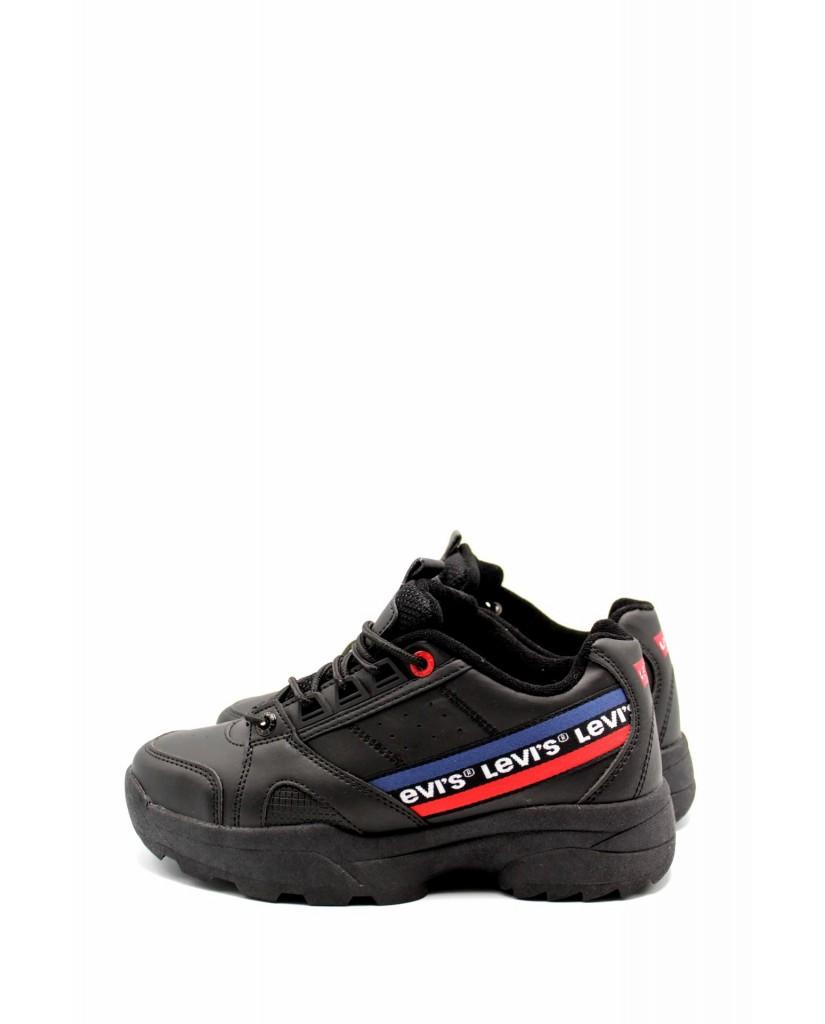 Levi's Sneakers F.gomma Soho Donna Nero Casual