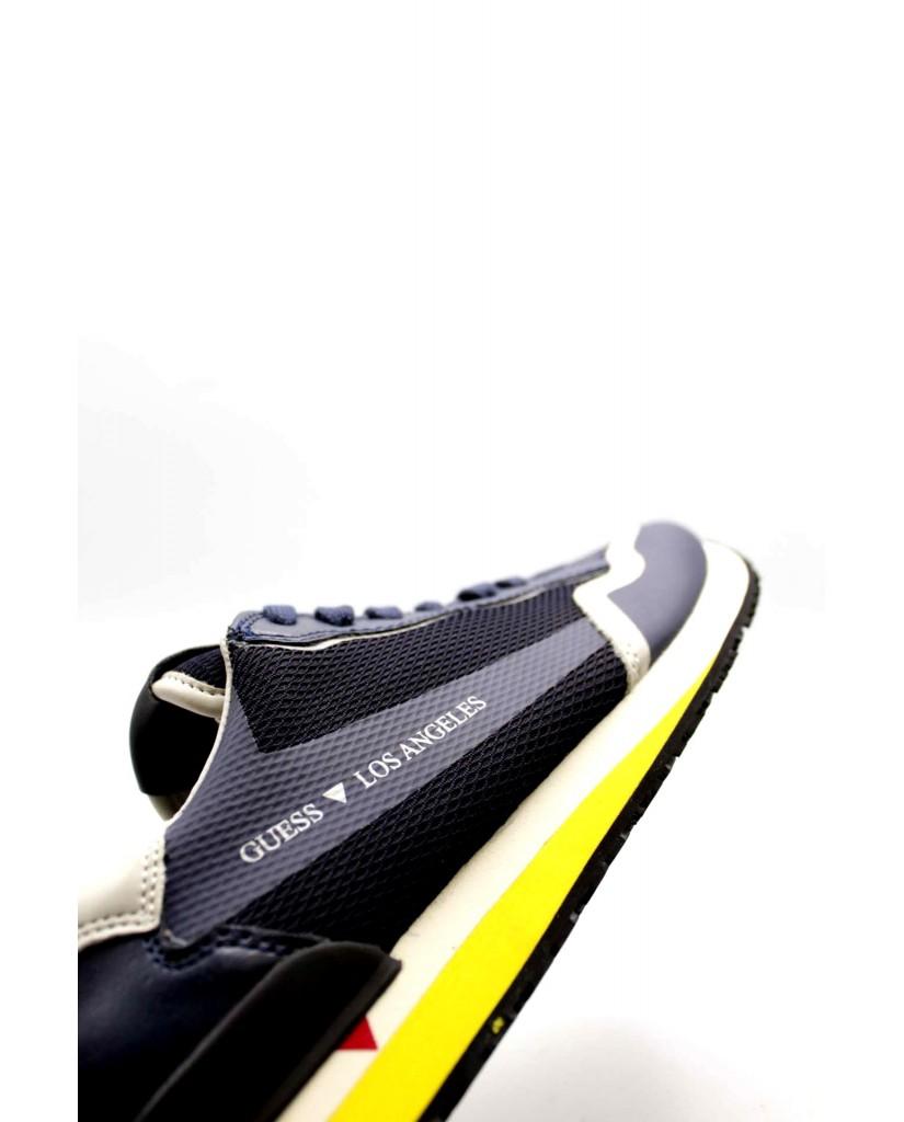 Guess Sneakers F.gomma Genova Uomo Blu Fashion