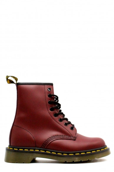 Dr. martens Anfibi F.gomma 36/41 1460 Donna Rosso Fashion