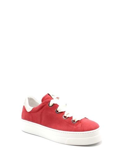 Nero giardini Sneakers Velour red flambe' oxigen platino e Donna